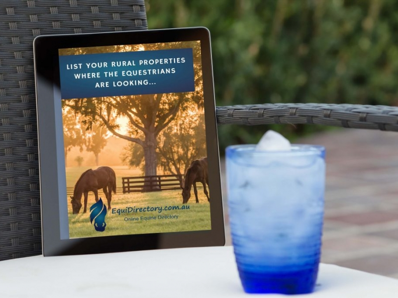 Connect with Horse People to sell your Rural Property