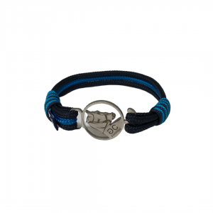 Breeze Black & Turquoise Rope Bracelet