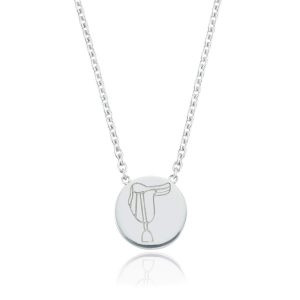 Breeze Saddle Disc Necklace