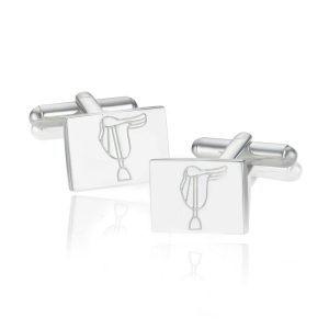 Breeze Saddle Square Cufflinks