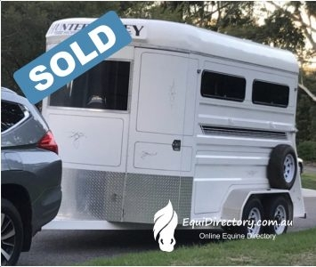 SOLD - Hunter Valley 2HAL Horse Float - Made to fit large Warmbloods
