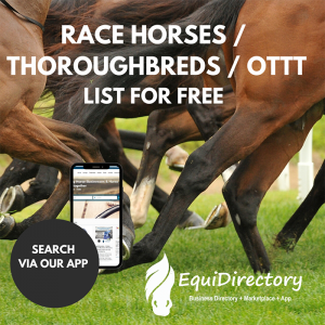 List your race horse, OTTT, thoroughbred for FREE