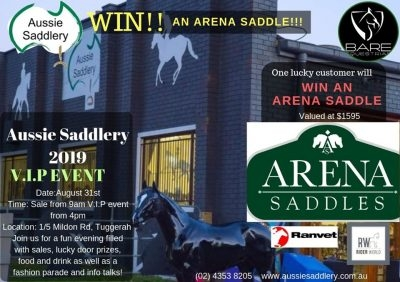 Aussie Saddlery 2019 VIP Event